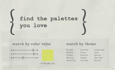 Paletas de Color Profesionales para Fotógrafos Aficionados