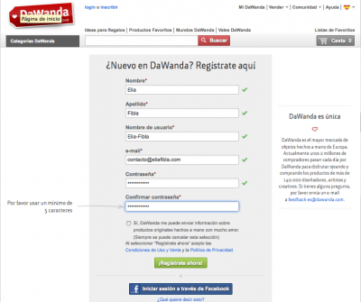 Abre tu tienda online (II) DAWANDA