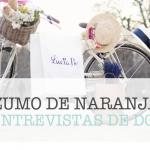 ZUMO DE NARANJA: Con Lucía Be la vida es una verbena